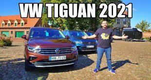 Volkswagen Tiguan 2021 FL (PL) – test i pierwsza jazda próbna  – [Video]