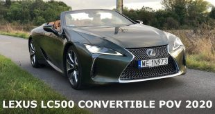 2021 Lexus LC 500 Convertible – POV Driving and pure sound  – [Video]