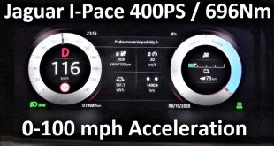 Jaguar I-Pace EV400 400PS 696Nm 0-100 km/h mph Acceleration Test  – [Video]
