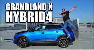 Opel Grandland X Hybrid4 – 300-konna hybryda 4×4 (PL) – test i jazda próbna  – [Video]