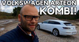 Volkswagen Arteon Shooting Brake – bardziej praktyczny, ale równie ładny  – [Video]