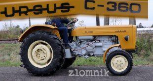 Złomnik: miastowy jeździ Ursusem C-360  – [Video]