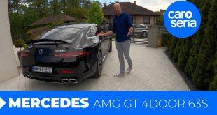 Mercedes AMG GT 4door 63S, rodzinne auto przez które się rozwiedziesz (TEST PL) | CaroSeria  – [Video]
