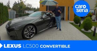 Lexus LC500 Convertible, czyli kabriolet na 1800 lat (TEST PL) | CaroSeria  – [Video]