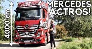 Mercedes Actros – spełniłem marzenie z dzieciństwa  – [Video]