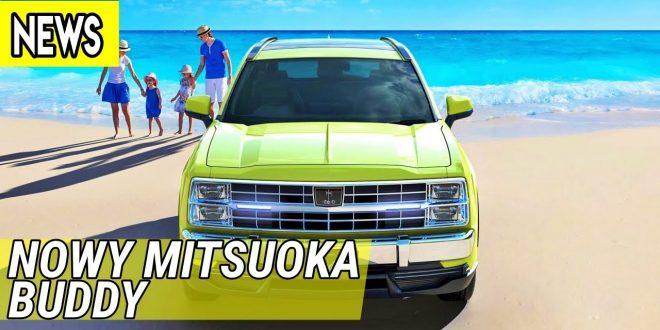 Nowy Mitsuoka Buddy, elektryczny Chevrolet Blazer K5, Barkeley Bandit  – #533 NaPoboczu  – [Video]