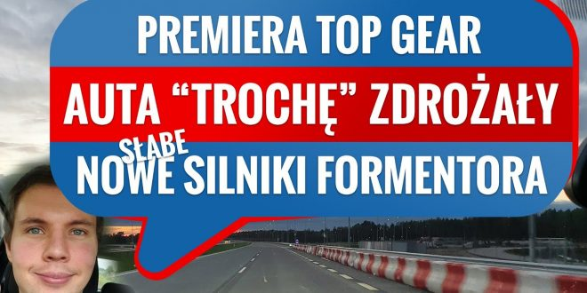 Samochody w Polsce drożeją, a może być jeszcze gorzej – Prosto z Fury #03  – [Video]