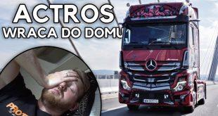 Mercedes Actros – ostatnią noc spędziłem w szoferce  – [Video]