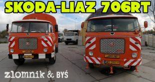Złomnik: Skoda-Liaz 706 RT, śmieciarka i polewaczka  – [Video]