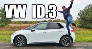 Volkswagen ID.3 – elektryczny Golf? (PL) – test i jazda próbna  – [Video]