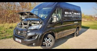 2020 FIAT DUCATO MAXI 2.3L 180HP 0-100km/h Acceleration & Fuel consumption TEST  – [Video]