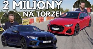 Audi RS7 vs BMW M8 GC Competition – upalamy 2 mln zł  – [Video]