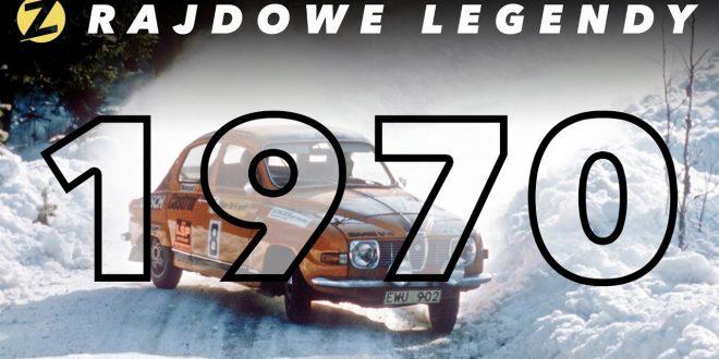 Pierwszy rok prawdziwego ścigania! | Rajdowe Legendy – SEZON 1970  – [Video]