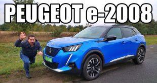 Peugeot e-2008 – elektryczny crossover (PL) – test i jazda próbna  – [Video]