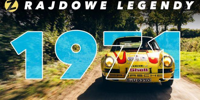 Czy Porsche 911 utrzyma się na podium?  | Rajdowe Legendy – SEZON 1971  – [Video]