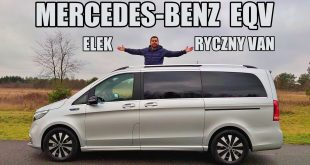 Mercedes-Benz EQV elektryczny van (PL) – test i jazda próbna  – [Video]