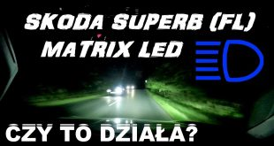 MATRIX LED 2020 Skoda Superb (FL) Czy to działa? TEST Bida Vlog  – [Video]
