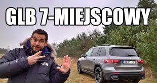 Mercedes-Benz GLB 7-miejscowy mały SUV (PL) – test i jazda próbna  – [Video]