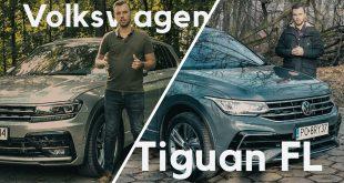 Volkswagen Tiguan FL – zmiany są, ale mało znaczą  – [Video]