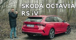 Skoda Octavia RS iV – czy wtyczka i RS idą w parze?  – [Video]