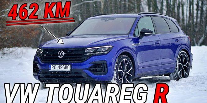TEST VW TOUAREG R 3.0 462 KM: Najmocniejszy Volkswagen! – #324 Jazdy Próbne  – [Video]