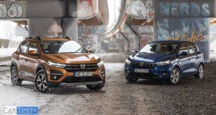 Dacia Sandero i Sandero Stepway test PL Pertyn Ględzi  – [Video]