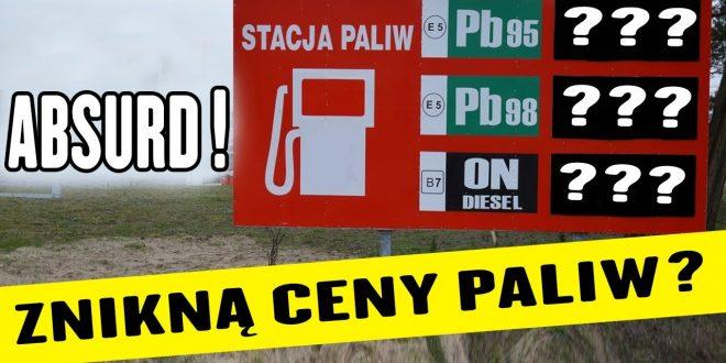Czy ceny paliw znikną ze stacji?! *Najnowsze przepisy UE*  – [Video]