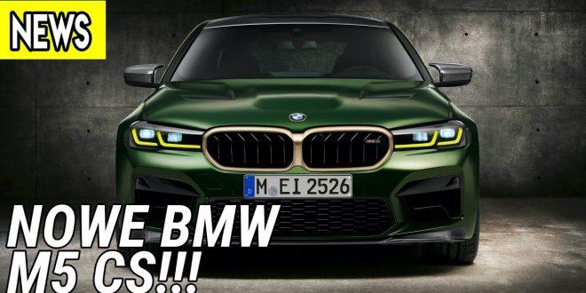 Nowe BMW M5 CS, DS 9, Ferrari Breadvan Hommage  – #568 NaPoboczu  – [Video]