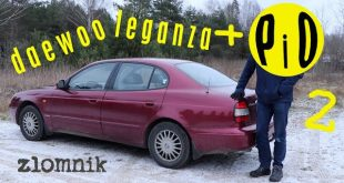 Złomnik: Daewoo Leganza + PiO2  – [Video]