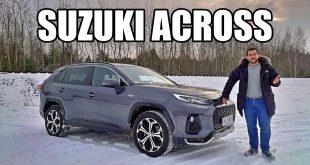 Suzuki Across – dlaczego wygląda jak RAV4? (PL) – test i jazda próbna  – [Video]