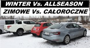 Winter Vs. All Season Tires CAŁOROCZNE / ZIMOWE opony TEST Heavy Snow Bida Vlog  – [Video]