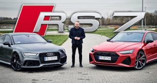 Audi RS 7 – samo się o to prosiło  – [Video]