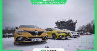 Renault Megane RS, RS Trophy, RS Trophy-R na Torze Modlin Carolewski 4K  – [Video]