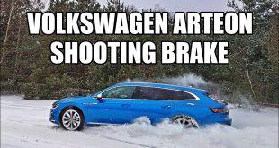 Volkswagen Arteon Shooting Brake 2021 – nowoczesny Phaeton (PL) – test i jazda próbna  – [Video]