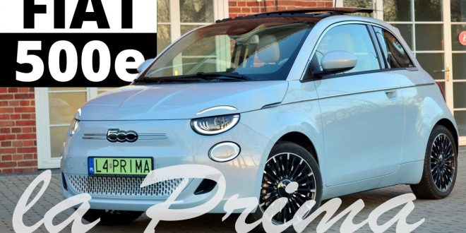 FIAT 500e La Prima – o jeden most za daleko? (test Kamila)  – [Video]