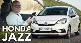 Honda Jazz Hybrid – auto, które nie przeszkadza  – [Video]
