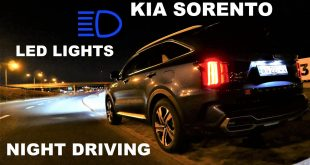 2021 KIA Sorento HEV Night Driving TEST DRIVE  – [Video]