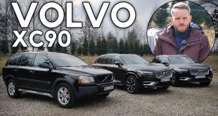 Volvo XC90 – już wtyczka, czy nadal diesel, ale z prądem?  – [Video]