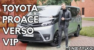 Toyota Proace Verso VIP – tu chodzi o floty, ale nie tylko  – [Video]