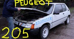 Złomnik: Peugeot 205 za 300 zeta (jest świetny)  – [Video]