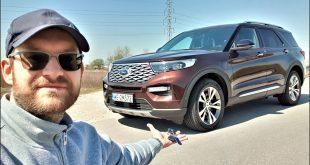 Ford EXPLORER 3.0 V6 457KM – żarty na bok TEST PL muzyk jeździ  – [Video]