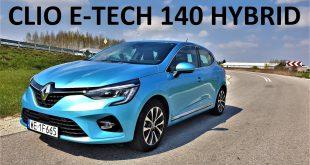 Renault CLIO E-TECH 140 Hybrid – benzyna czy hybryda? TEST PL muzyk jeździ  – [Video]