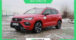 Seat Ateca FR FL 2021 2.0 Tsi 190KM TEST. SUV z hiszpańskim temperamentem  – [Video]
