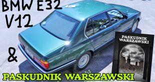 Złomnik: BMW 750iL V12 x Paskudnik Warszawski  – [Video]