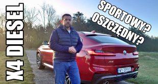 BMW X4 xDrive20d – oszczędny diesel? (PL) – test i jazda próbna  – [Video]