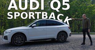 Audi Q5 Sportback – dopłacasz za wygląd, a tracisz niewiele  – [Video]