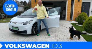 Volkswagen ID.3, czyli nawet mój pies go nie chce (TEST PL) | CaroSeria  – [Video]