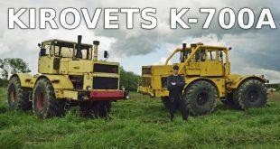 Kirovets K-700A – rolnik Łukasz nie zamieniłby go na nowy traktor  – [Video]