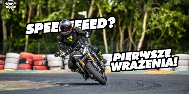 Szybki, wściekły i brzydki?! Triumph Speed Triple 1200RS – pierwsze wrażenie.  – [Video]