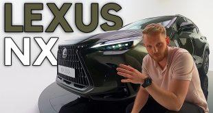 """Lexus NX 2021 – nowy przez duże """"N""""  – [Video]"""